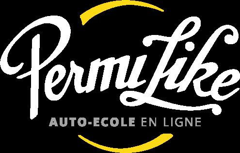 Logo Permilike blanc png