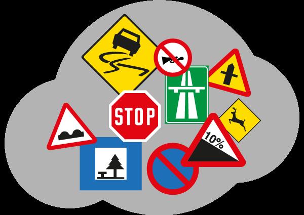 Code de la route - Panneaux de signalisation